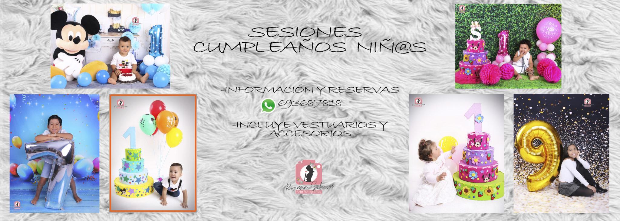 SESIONES CUMPLEAÑOS NIÑ@S